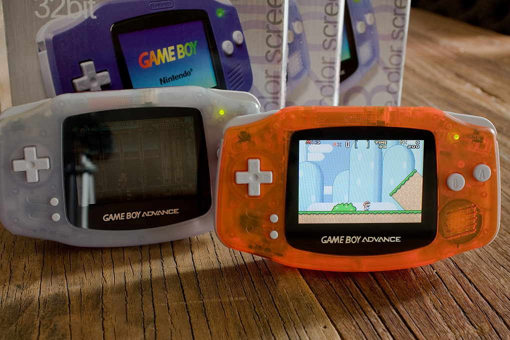The Modded Game Boy Advance - Brighter GBA Games for all