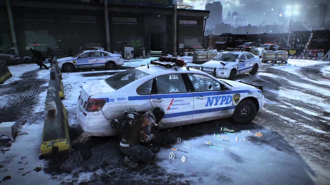 NYPD car The Division