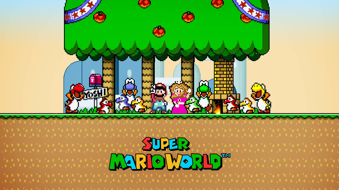 Super Mario World Characters
