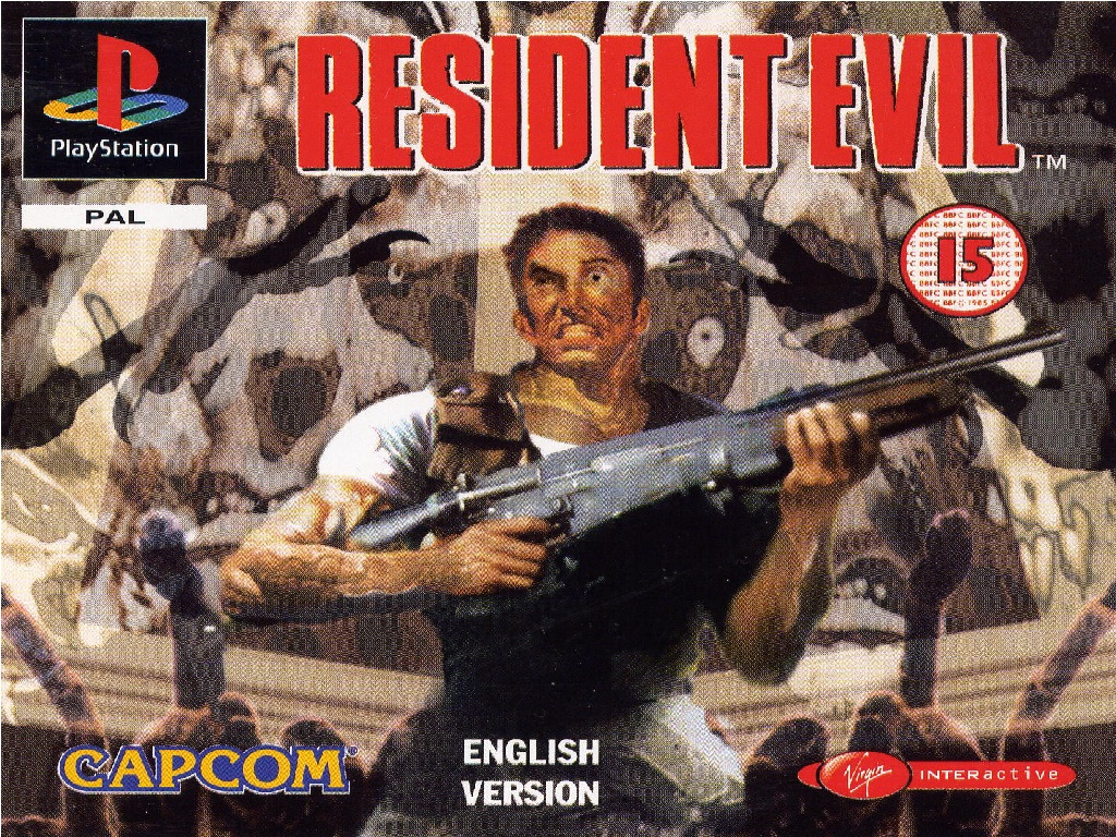 resident evil 2 wallpaper ps1