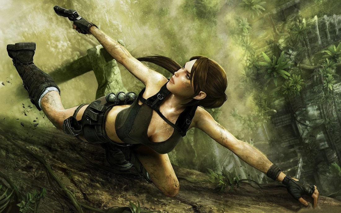 Lara Croft - Overly Sexualised?