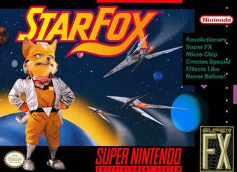 Starfox Box art North America