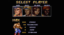 Streets of Rage 2 characters