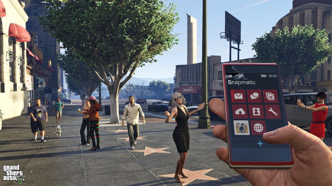 Cell phone GTA V