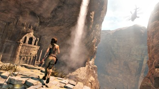 Lara Croft seen raiding tombs