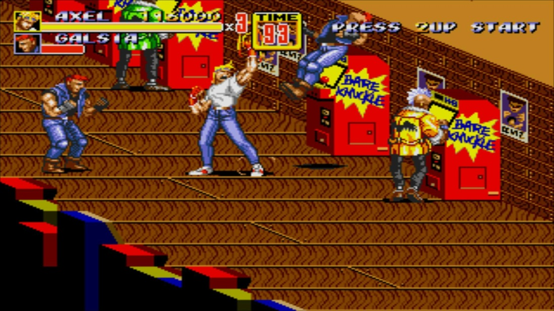 Streets of Rage 2 level 2