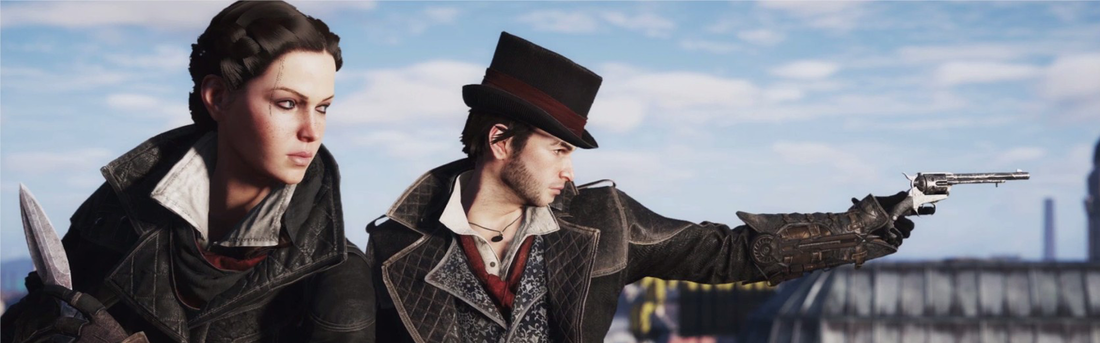 Evie and Jacob Frye in assassins creed syndicate