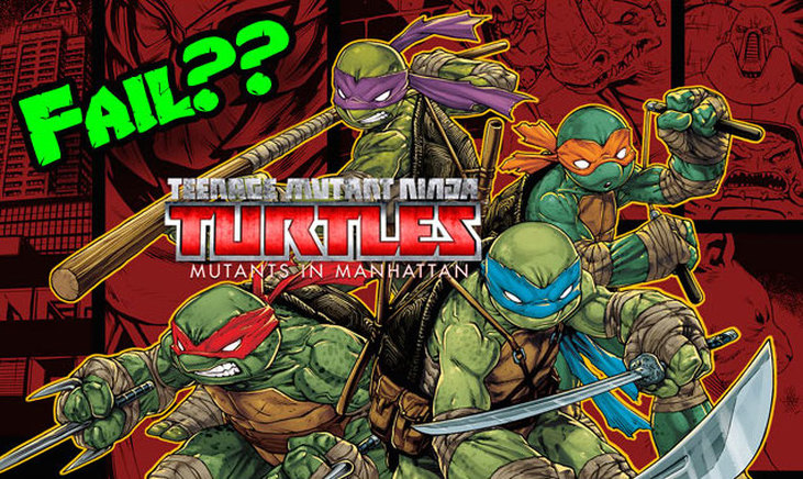 TMNT - Mutants in Manhattan