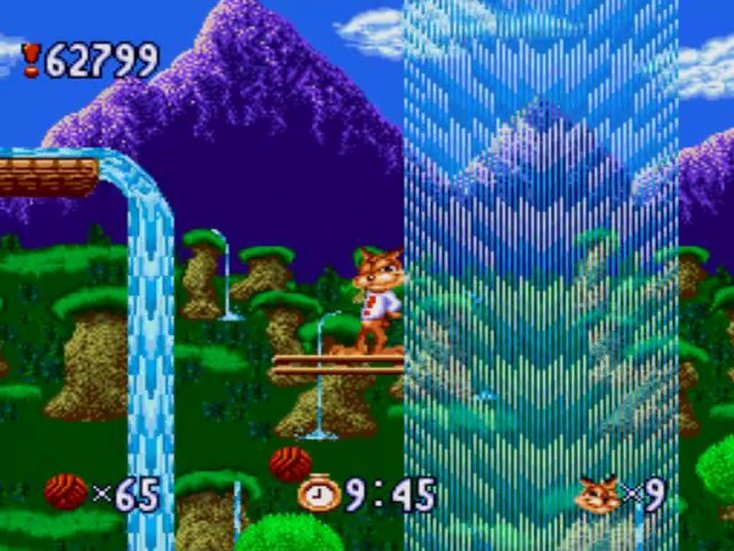 Bubsy Screenshot