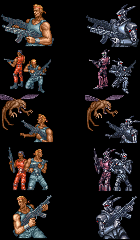 Contra 3 and Super Probotector differences