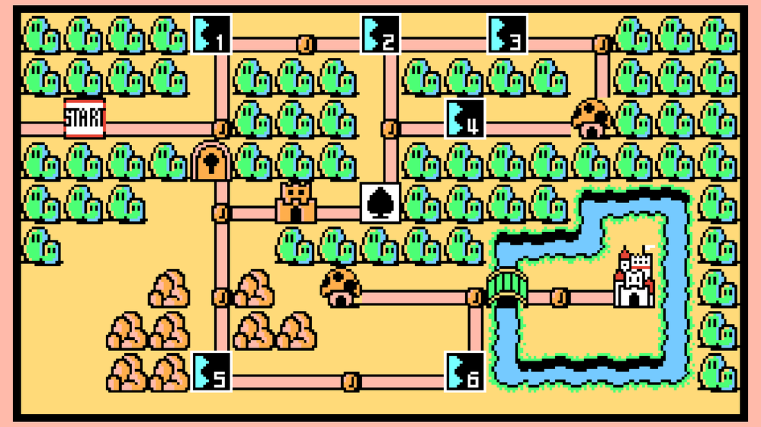 Super Mario Bros 3 World 1