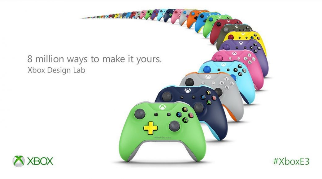 Design your own xbox one S controller