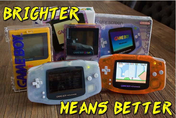 Modded Game Boy Advance