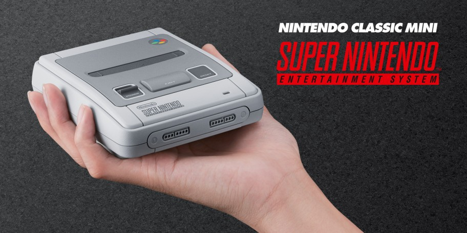 The Classic Mini Super Nintendo Entertainment System