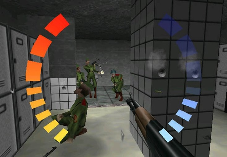 Goldeneye N64 shooting