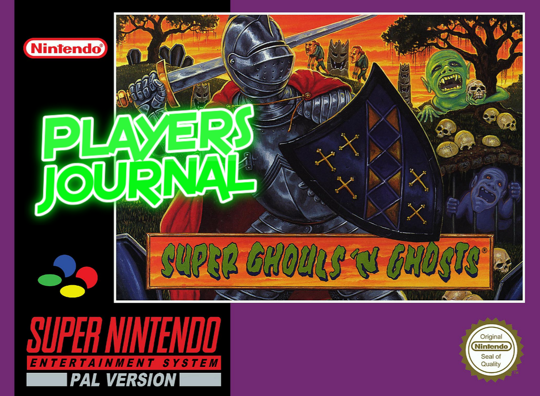 Super Ghouls 'N Ghosts PAL cover