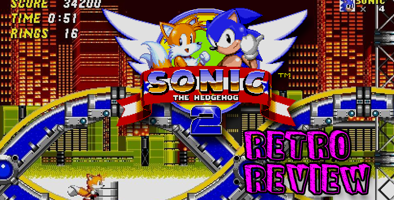 Sonic 2 Sega Mega Drive retro game review